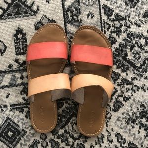 Old Navy Pink/Tan Sandals